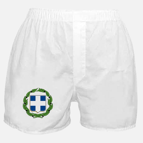 Greek Coat of Arms Boxer Shorts