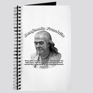 Benjamin Franklin 04 Journal