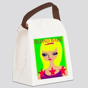 Blond Babe Canvas Lunch Bag