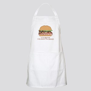 Behind This Sandwich Apron