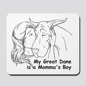 C Love Momma's Boy Mousepad