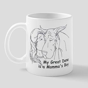 C Love Momma's Boy Mug