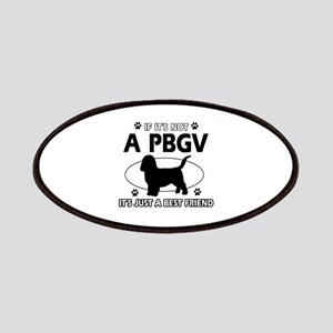 PBGV designs Patches