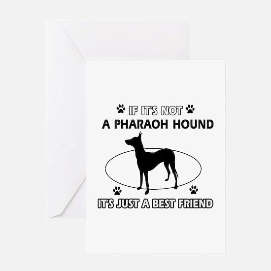 Pharaoh Hound designs Greeting Card