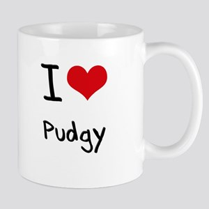 I Love Pudgy Mug