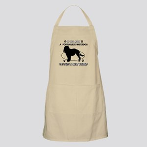 Portuguese Water Dog designs Apron