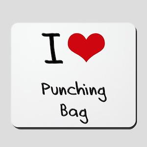I Love Punching Bag Mousepad