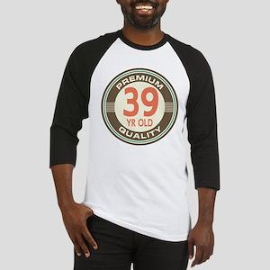 39th Birthday Vintage Baseball Jersey