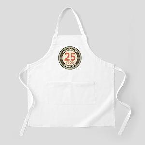 25th Birthday Vintage Apron