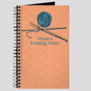Nicole's Knitting Notes Journal