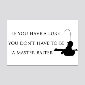 Master baiter Mini Poster Print