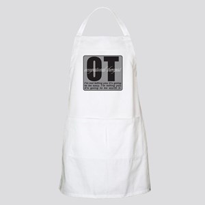 OT/Occupational Therapist Apron