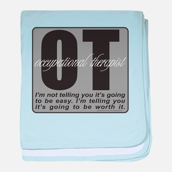 OT/Occupational Therapist baby blanket