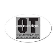 OT/Occupational Therapist Wall Sticker