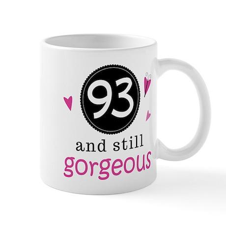 Funny 93rd Birthday Mug