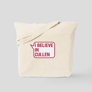 I Believe In Cullen Tote Bag