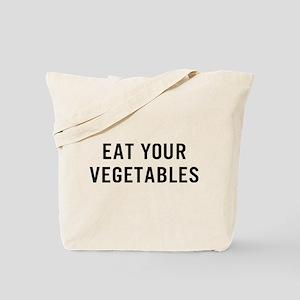 Eat Vegetables Tote Bag
