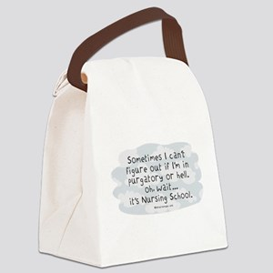 Oh wait...its Nursing School Canvas Lunch Bag