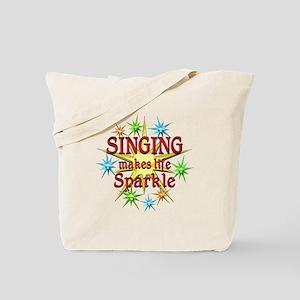 Singing Sparkles Tote Bag
