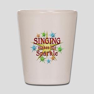 Singing Sparkles Shot Glass