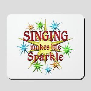 Singing Sparkles Mousepad