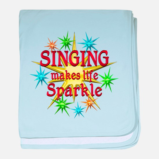 Singing Sparkles baby blanket