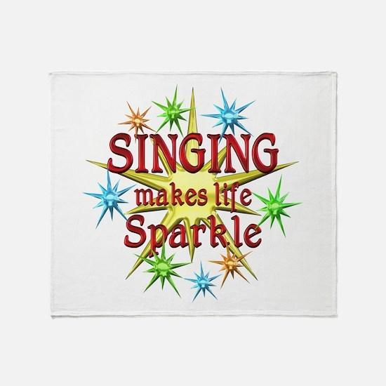 Singing Sparkles Throw Blanket