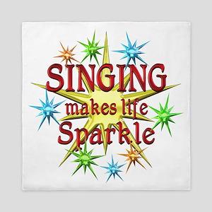 Singing Sparkles Queen Duvet