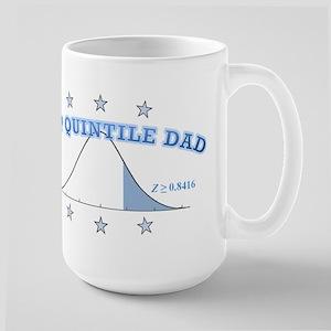 Top Quintile Dad Large Mug
