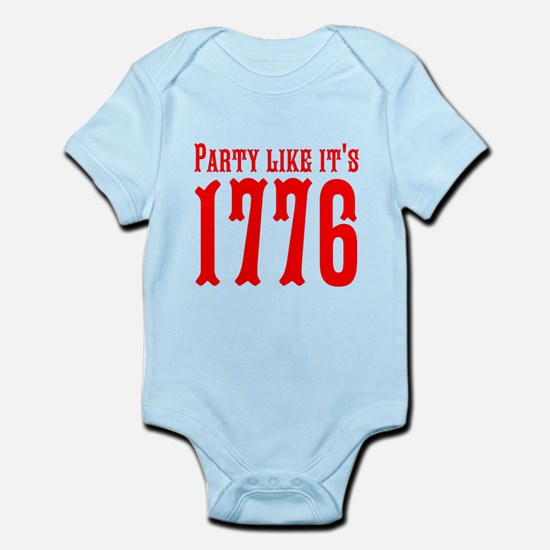 Party Like Its 1776 Body Suit