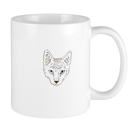Cat Illustration Mug