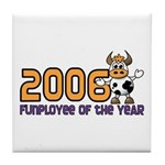 2006 Funployee of the Year Award Standard Plaque