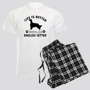 Life is better with English Setter Men's Light Paj