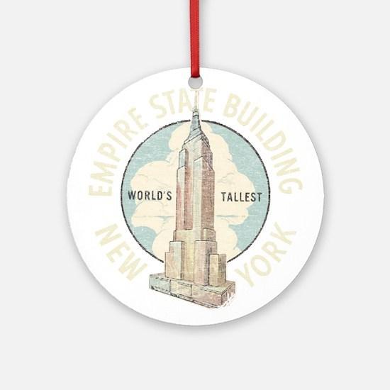 Empire State Ornament (Round)