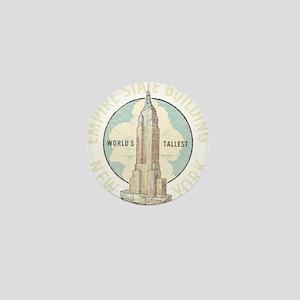 Empire State Mini Button