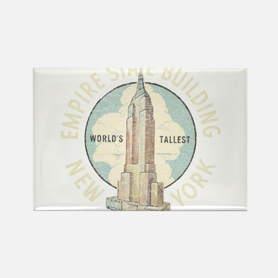 Empire State Rectangle Magnet