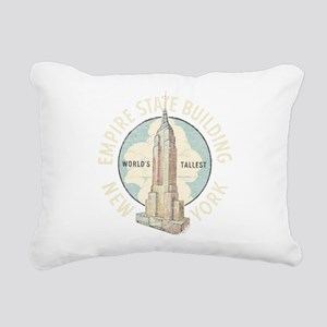 Empire State Rectangular Canvas Pillow
