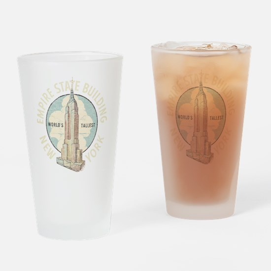 Empire State Drinking Glass