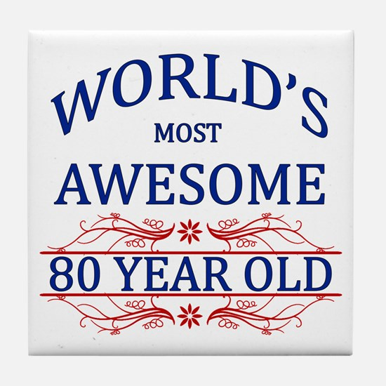 World's Most Awesome 80 Year Old Tile Coaster