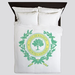 Vintage Raleigh North Carolina Queen Duvet