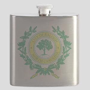 Vintage Raleigh North Carolina Flask