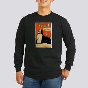 Sanctuario de Guadalupe Long Sleeve Dark T-Shirt