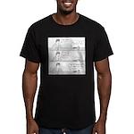 Man-Spider Men's Fitted T-Shirt (dark)