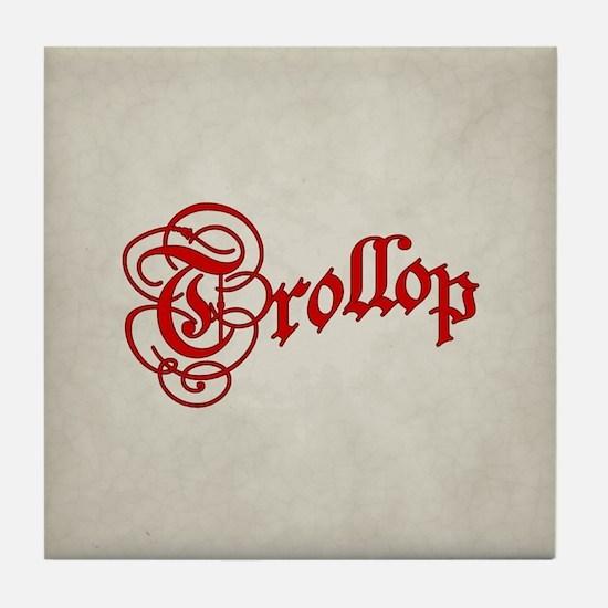Trollop Tile Coaster