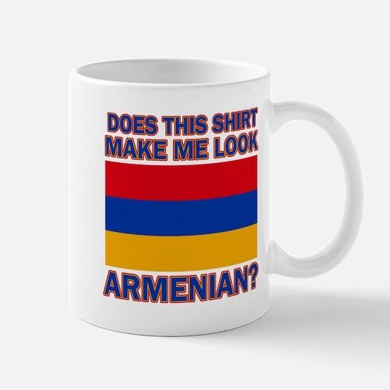 Armenian flag designs Mug