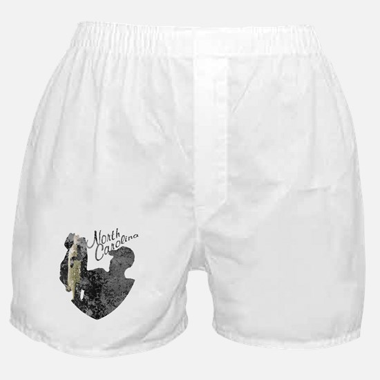 North Carolina Fishing Boxer Shorts