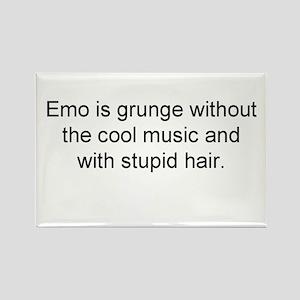 emo grunge Rectangle Magnet