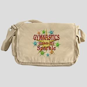 Gymnastics Sparkles Messenger Bag