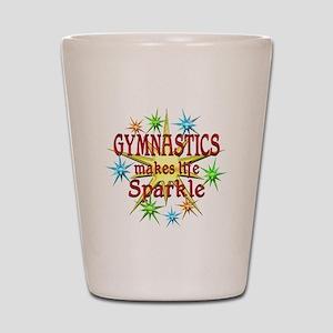 Gymnastics Sparkles Shot Glass