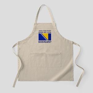 Bosnian flag designs Apron